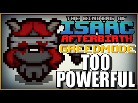 TOO Powerful - Isaac Afterbirth Greed Mode [10]
