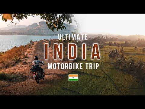 Ultimate India Motorbike Trip 🇮🇳  8,000km in 43 Days