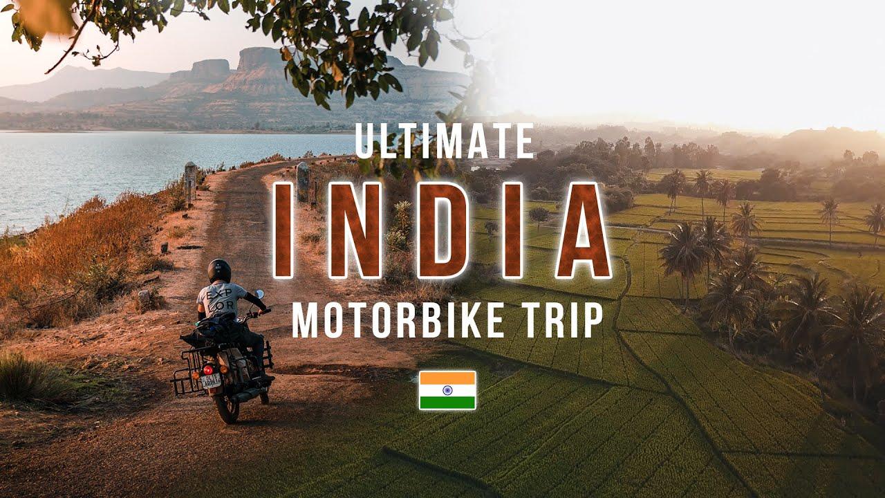 Ultimate India Motorbike Trip | 8,000km in 43 Days