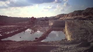 قناة السويس الجديدة مصر:قناة الاتصال بمنطقة نمرة 6قبل تدفق المياه بها