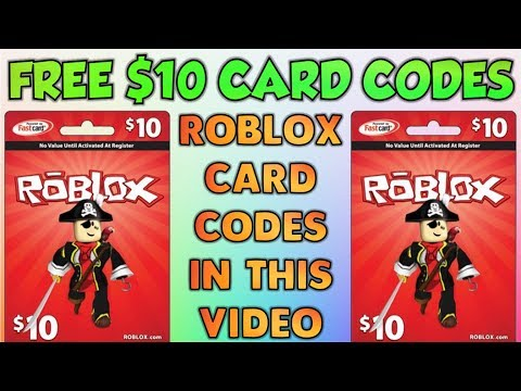 ROBLOX CARD CODES! Are Hidden In This Video!