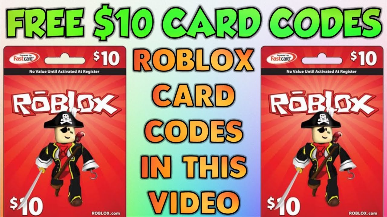 Roblox Card Codes Are Hidden In This Video Youtube
