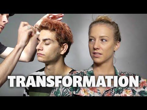 Elks Drug Awareness Makeup Transformation (Squad Vlogs)