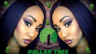 HOW TO SLAY USING DOLLAR TREE MAKEUP CHALLENGE