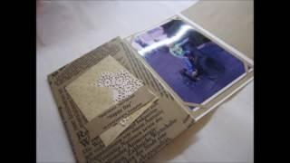 обзор альбома гармошки и объёмных открыток