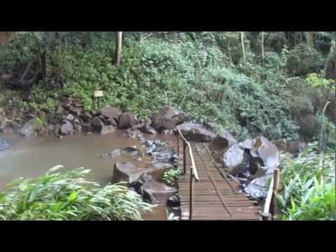 Cachoeira 3 quedas de Brotas SP