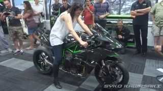 Kawasaki H2R (Track Version) Exhaust Sound