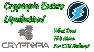Cryptopia Enters Liquidation! What does this mean for ETN Holders? + GIVEAWAY