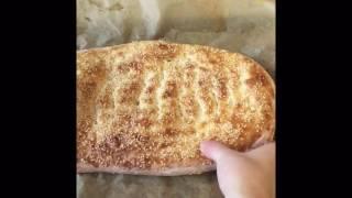 Küncülü Tırnaklı Pide tarifi - Susamlı Çarşı ekmeği - Pide tarifi