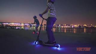 Обзор самокат Neon Vector Light up Kids Scooter
