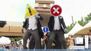 Windows 7 Coffin Dance (Astronomia Covered Using Windows 7 Sounds) - YTPMV / 音MAD