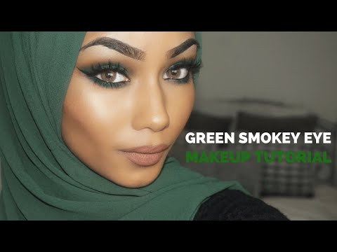 GREEN SMOKEY EYE - MAKEUP TUTORIAL