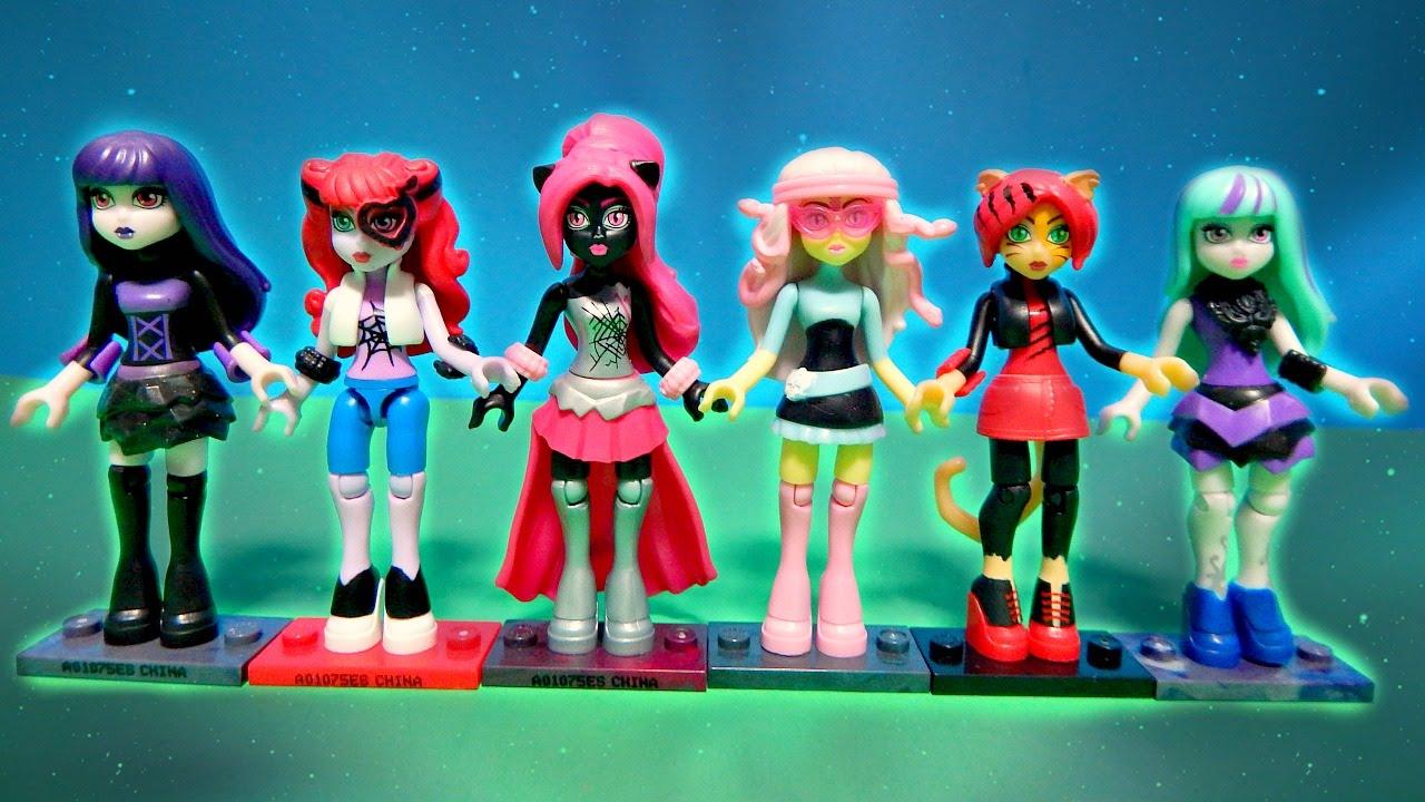Series 2 Monster High Mega Bloks Minifigures Dolls Toralei