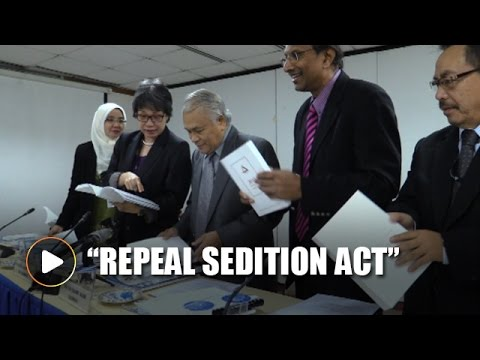 Suhakam reiterates call to repeal Sedition Act