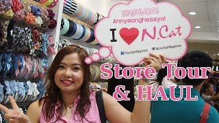 NCAT Korean Accessory Store Tour + Haul