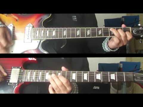 Tutoriales Beatles - Sun King - Guitarras