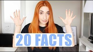 20 FACTS ABOUT ME | Eda Vendetta