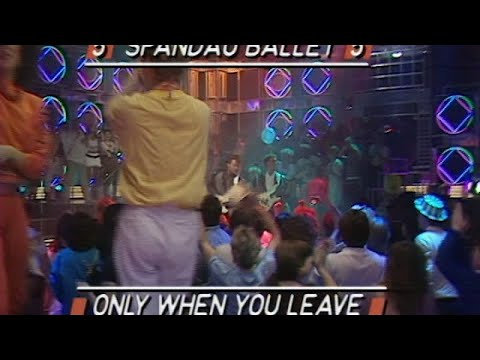 Only When You Leave (Top Of The Pops 1984)