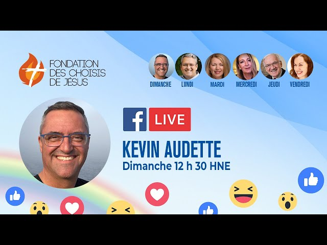 Facebook Live quotidien 11/04/2021 - Je serai toujours avec toi pour te soutenir et te protéger