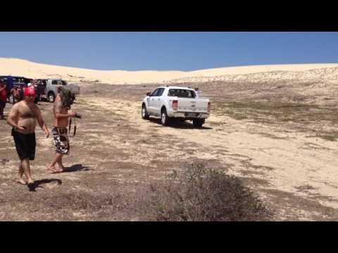 Ranger Trip Fortaleza  Descida dunas