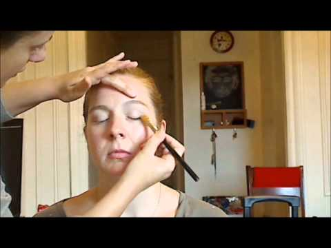 MAKEUP TUTORIAL Film/Television FEMALE for High Def_part1