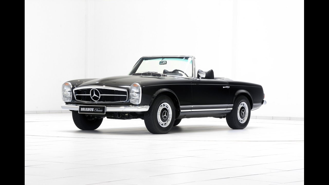 Mercedes benz 280 sl pagoda brabus classic youtube for Buy classic mercedes benz