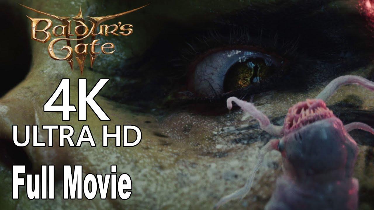 Download Baldur's Gate 3 - Full Movie All Cinematics Trailers [4K]