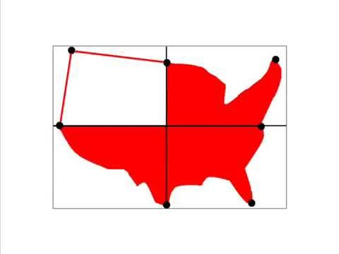 How To Draw A Map Of The United States Of America YouTube - Simple map of western us