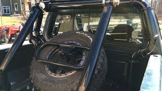 How to Make a Custom Roll Bar/Back Rack (1996 Ford F250)(Here's my custom rollbar (or backrack) that we have been designing and building for the last couple months. In the video I show how we made it. OBS 1996 Ford ..., 2016-03-13T18:23:45.000Z)