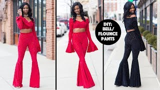 DIY: How to Sew Bell/Flounce/Flare Pants
