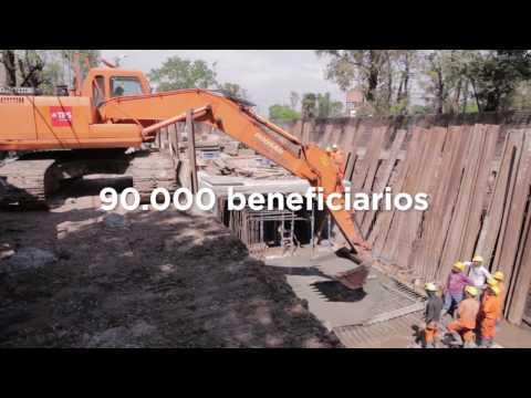 Reconstrucción de un conducto del Arroyo Maldonado