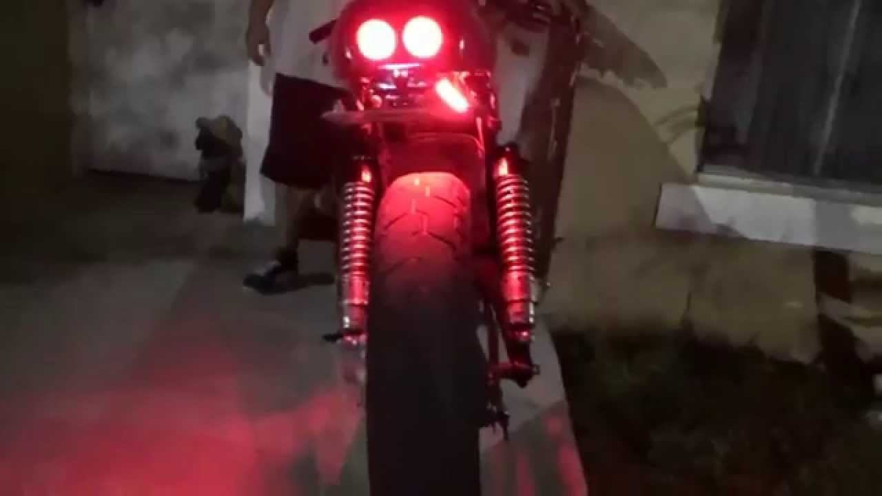 Led tail brake light motorcycle universal led strip honda shadow diy led tail brake light motorcycle universal led strip honda shadow diy youtube aloadofball Gallery