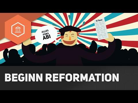 Die Reformation - Zusammenfassung Abitur: Beginn mit Luther & das Christentum