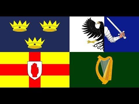 32 counties of Ireland as Gaeilge
