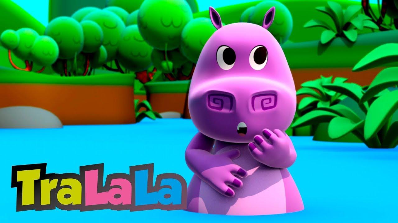 Hipopotamul - Cântece pentru copii   TraLaLa