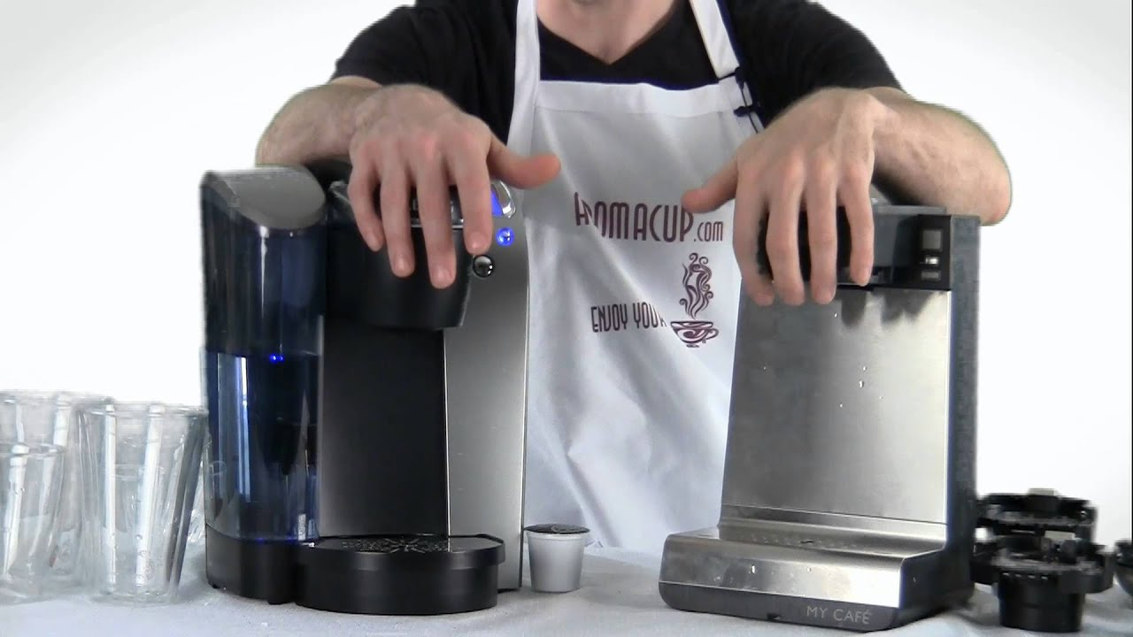 keurig vs bunn mcu single serve multi use coffee maker youtube