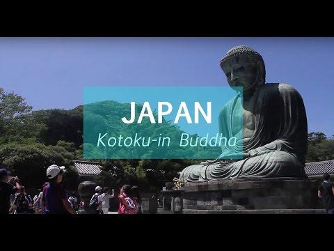 VISITNG THE BIG BUDDHA, KOTOKU-IN. (JAPAN)