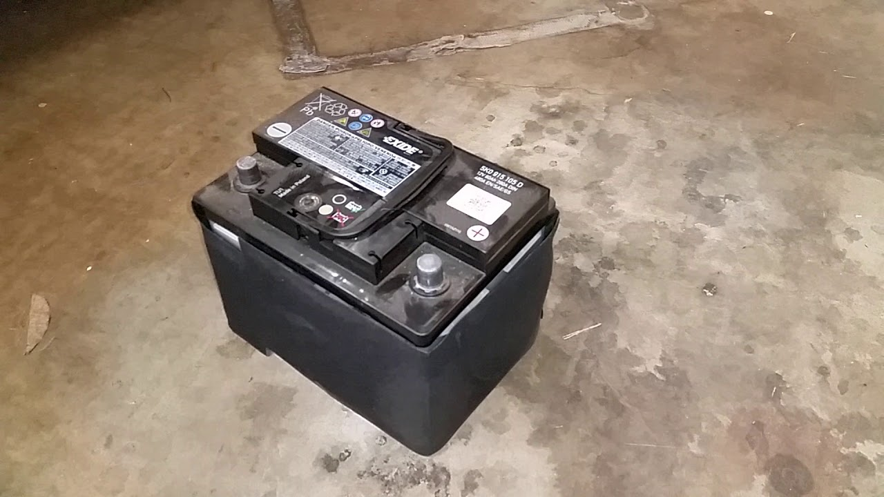 2009 2017 Volkswagen Tiguan Suv 12v Automotive Battery Removed