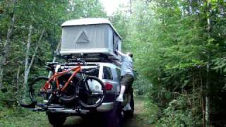 Setting up the Maggiolina roof top tent  Part II