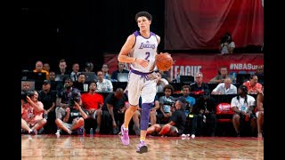 Lonzo Ball Is Your 2017 NBA Summer League MVP | 16.3 points, 7.7 rebounds, and 9.3 assists