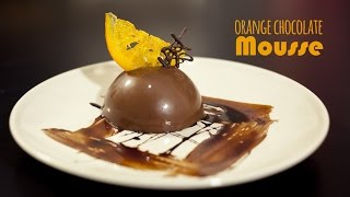 How to make Orange Chocolate Mousse