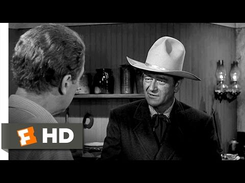 A Persistent Cuss - The Man Who Shot Liberty Valance (4/7) Movie CLIP (1962) HD