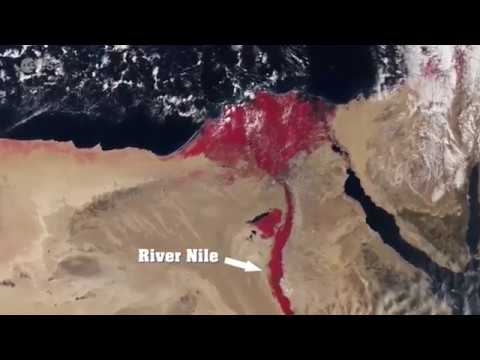 River Nile Turns Blood Red On Nasa Satellite Image End Times Prophecy