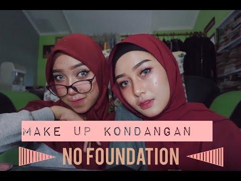 MAKE UP KONDANGAN SIMPLE NO FOUNDATION | MAKE UP TUTORIAL