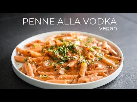VEGAN PENNE ALLA VODKA RECIPE | EASY DINNER CREAMY PASTA IDEA