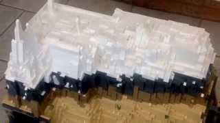 Lego Mountain Tunnel MOC Modular City Emerald Night Train 10194 Grand Emporium 10211 Pet Shop 10218