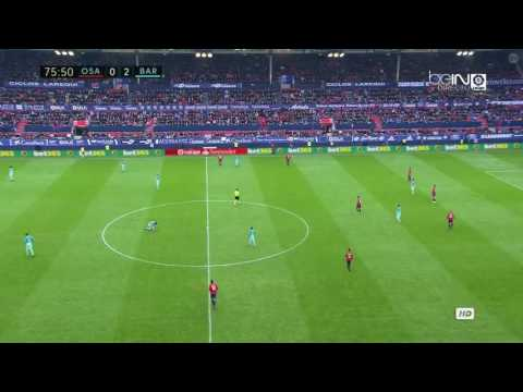Osasuna vs FC Barcelona Leo messi fair play - Messi juego limpio