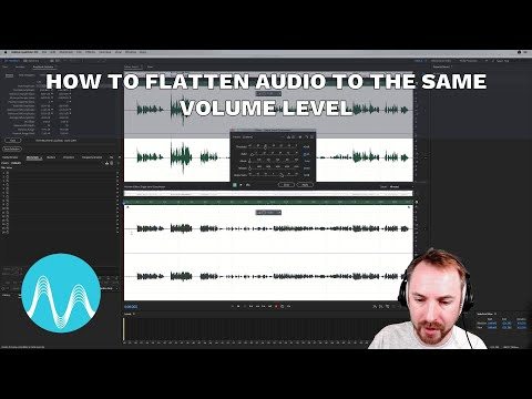 How to Flatten Audio to the Same Volume Level