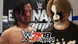 WWE 2K18 Modo Carreira - #25: UM NOVO AMIGO? E PPV ELIMINATION CHAMBER!