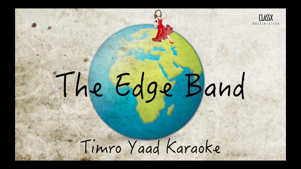 the-edge-band-timro-yaad-karaoke-classx-presentation